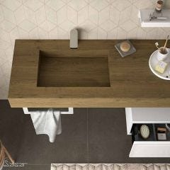 Compakt Worktop with Integrated Sink