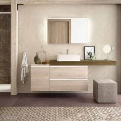 Compakt Worktop with Wash Bowl
