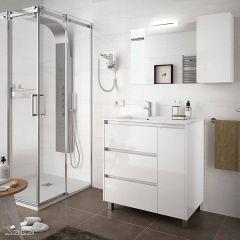 Arenys Floor Standing 3 Drawer 1 Door Vanity with Basin