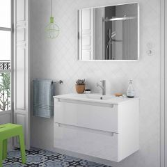 Monterrey Wall Hung 2 Drawer Vanity with 1 Taphole Basin