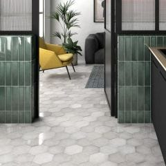 Heritage Porcelain Floor & Wall Tile 18x20cm