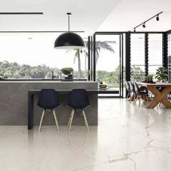 Maiora Rectified Polished Porcelain Floor & Wall Tile 120x120cm
