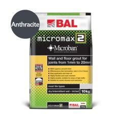 BAL Micromax2 Flexible Tile Grout with Microban  (Anthracite)