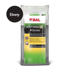 BAL Micromax2 Flexible Tile Grout with Microban (Ebony)