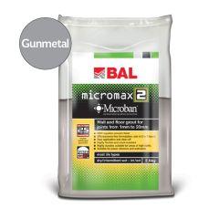 BAL Micromax2 Flexible Tile Grout with Microban (Gunmetal)