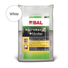 BAL Micromax2 Flexible Tile Grout with Microban (White)