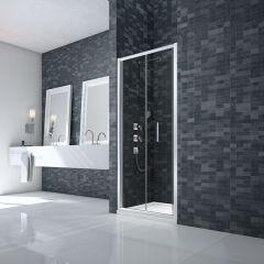 Merlyn Essence 8mm Framed Bifold Shower Door