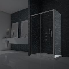 Merlyn Essence 8mm Framed Shower Side Panel