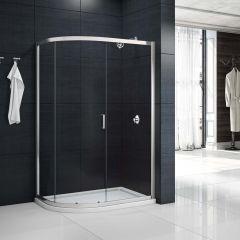 Merlyn Primo 6mm 1 Door Offset Quadrant Shower Enclosure