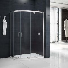 Merlyn Primo 6mm 2 Door Offset Quadrant Shower Enclosure