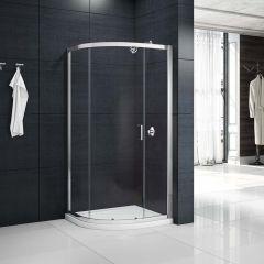 Merlyn Primo 6mm 1 Door Quadrant Shower Enclosure