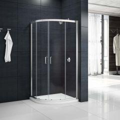 Merlyn Primo 6mm Loft Height 2 Door Quadrant Shower Enclosure
