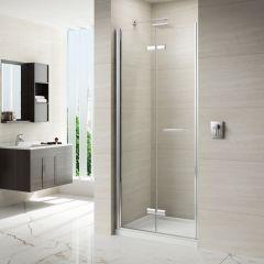 Merlyn Series 8 Frameless Hinged Bifold Shower Door