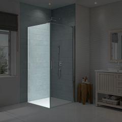 Merlyn Series 8 Frameless Side Panel for Pivot Shower Door