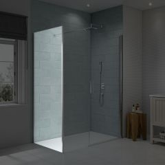 Merlyn Series 8 Frameless Side Panel for Pivot & Inline Shower Door