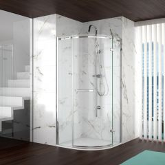 Merlyn Series 8 Frameless 1 Door Quadrant Shower Enclosure