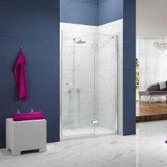 Merlyn Essence Frameless Hinge & Inline Shower Door
