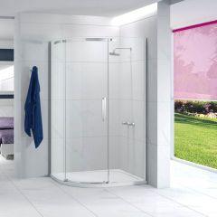 Merlyn Essence Frameless 1 Door Offset Quadrant Shower Enclosure