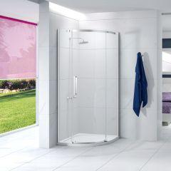 Merlyn Essence Frameless 900mm 1 Door Quadrant Shower Enclosure