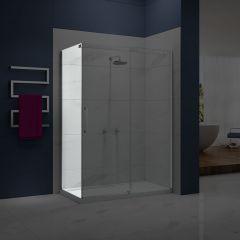 Merlyn Essence Frameless Side Panel for Sliding Shower Door