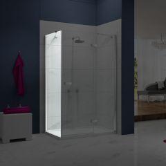 Merlyn Essence Frameless Side Panel for Hinge & Inline Shower Door