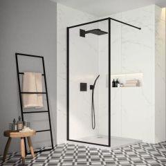 Merlyn Black Framed Showerwall