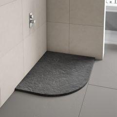 Merlyn Truestone Offset Quadrant Shower Tray