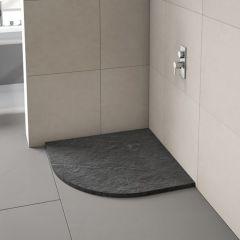 Merlyn Truestone 900mm Quadrant Shower Tray