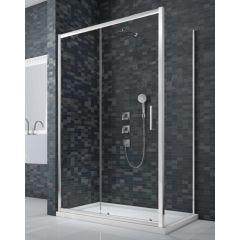 Merlyn Essence Framed 8mm Sliding Shower Door with Side Panel