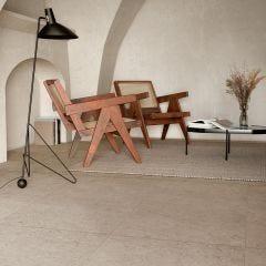 Eterna Rectified Porcelain Floor & Wall Tile (Greige)