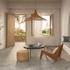 Eterna Rectified Porcelain Floor & Wall Tile (Gris)