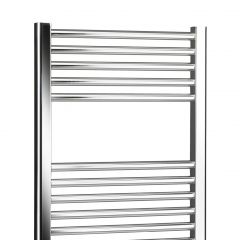 Lucca Curved Towel Rail (Chrome)