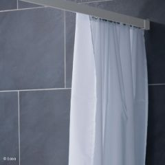 Weighted Hem Polyester Shower Curtain