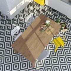 Maori Goroka Porcelain Floor & Wall Tile 20x20cm