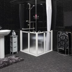 Easa Essence Shower Enclosure Pack with Access Tray