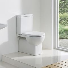 Lucy Back to Wall Close Coupled Toilet with Soft Close Seat