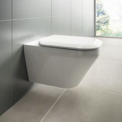 Ideal Standard Tonic II Aquablade Wall Hung Toilet with Soft Close Seat