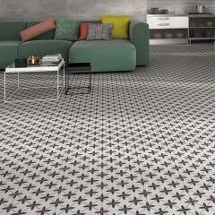 Durham Porcelain Floor & Wall Tile 45x45cm (Grey)