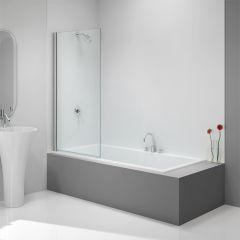 Merlyn Fixed Square Bathscreen 800x1500mm
