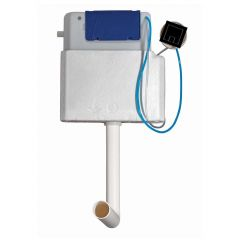 Fluidmaster Concealed Dual Flush Cistern with Square Pneumatic Button