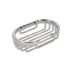 Metalia Wire Line Soap Dish (Chrome)