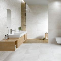 Iconic Concept Rectified Ceramic Décor Tile 30x90cm (Avorio)