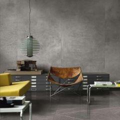 Maiora Rectified Porcelain Floor & Wall Tile 120x120cm (Grigio Scuro)