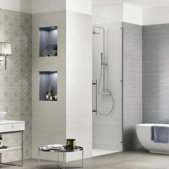 Wallpaper Ceramic Wall Tile 25x75 (Blanco)