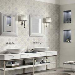 Wallpaper Ceramic Décor Tile (Floral)