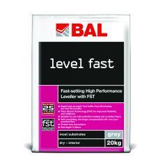 BAL Level Fast Rapid Levelling Compound Grey 20 kg