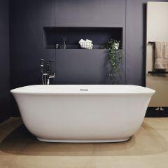 Adamsez Geneva Free Standing Double Ended Bath 1700x800mm (White)