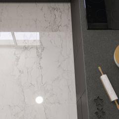 Mine Rectified Porcelain Floor & Wall Tile 60x120cm (White)