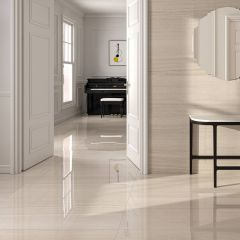 Tuscany Rectified Porcelain Floor & Wall Tile 60x120cm (Cream)