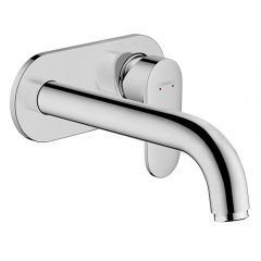Vernis Blend Single Lever Basin Mixer For Concealed Installation Wall-Mounted With Spout. (Chrome)